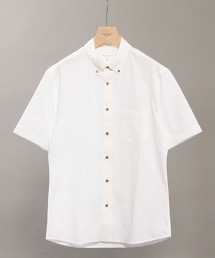 BY COOLMAX 錢佈雷布料短袖襯衫