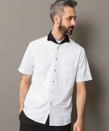 BY COOLMAX 直條紋 牧師 襯衫