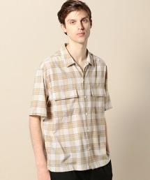 BY 格紋 2P 寬版 襯衫