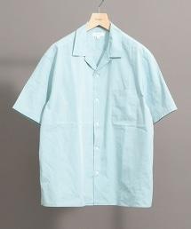 BY 彩色棉質府綢開領短袖襯衫 -MADE IN JAPAN 日本製-