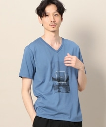 BY EDENTOPIA 照片印刷 V領 T恤