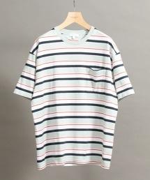 BY 多重條紋寬版T恤 -MADE IN JAPAN-