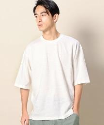 BY 橫條紋寬版半袖T恤 -日本製-