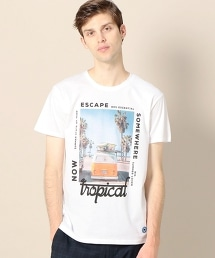 <MAP OF SKY> ESCAPE TEE/TEE
