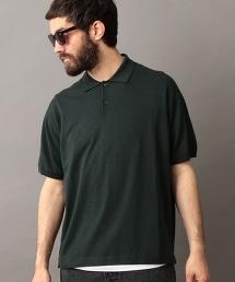 BY 寬版針織Polo衫