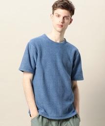 BY 靛藍色針織T恤