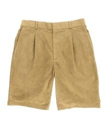 BY 仿麂皮 1P 短褲