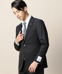 BY Dress 2/80 黑色斜紋布料2B西裝外套-Tiny