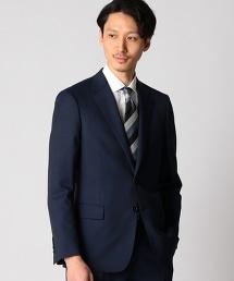 BY Dress 品藍色 Chambray嗶嘰單排雙釦西裝外套-Tiny