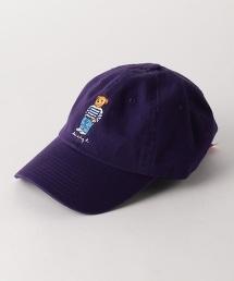 【特別定制】 <LES CINQ LETTRES.> BEAR BORDER CAP BYSP/帽子