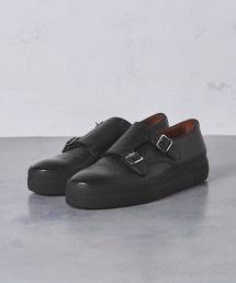 UA ITY 紳士休閒雙釦孟克鞋†