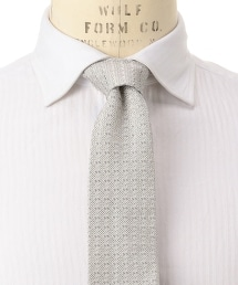 <FIORIO>DOBBY 多臂織格紋領帶