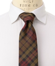 <FIORIO>OX MDRS 馬德拉斯格紋領帶