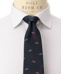 <FIORIO>CLSC TWL3 汽車刺繡圖案領帶