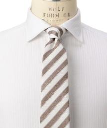 <ERRICO FORMICOLA>MAT ST 英式斜條紋領帶