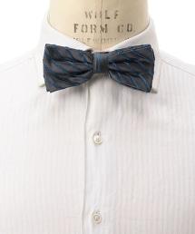UA ITY 絲緞條紋領結