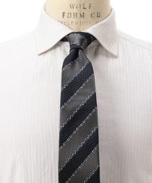 UA ITY 斜紋布條紋領帶