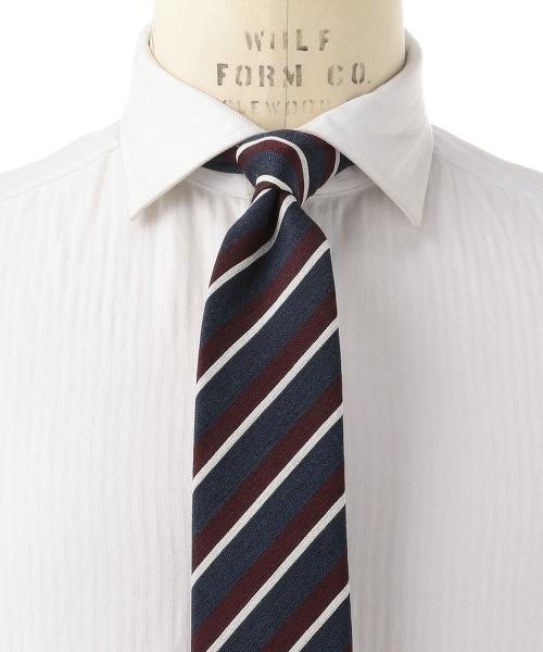 <ERRICO FORMICOLA> BQR ST英式斜條紋領帶