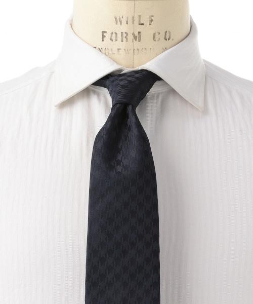 <ERRICO FORMICOLA> TWLL H/T 千鳥格領帶