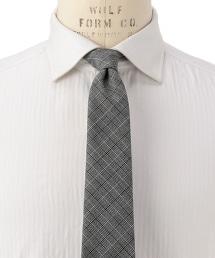FIORIO BRBRS SHRK CHK 格倫格紋領帶