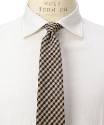 <fiorio> JQD GGM/CHK 格紋領帶