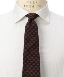 <fiorio> JQD B H/TOOTH 千鳥格紋領帶