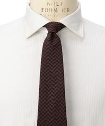 <fiorio> JQD S H/TOOTH 千鳥格紋領帶