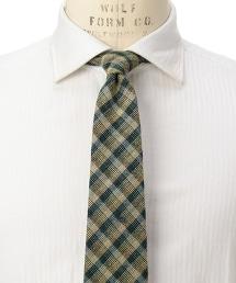 <fiorio> JQD GUNCLB/CHK 格紋領帶