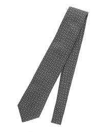 <FIORIO> JQD CHK 格紋緹花領帶
