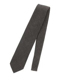 <FIORIO> JQD PIN/CHK 圓點格紋緹花領帶