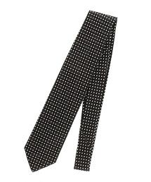 <FIORIO> JQD DOT3 緹花圓點領帶