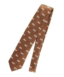 <FIORIO> TWLL PRNT ELFNT 大象印花領帶