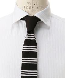 <FIORIO>橫條紋針織領帶