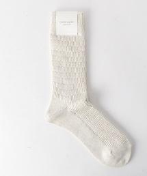 USOS 華夫格紋襪子