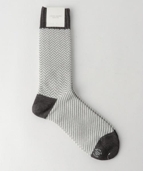 USET 人字呢短襪
