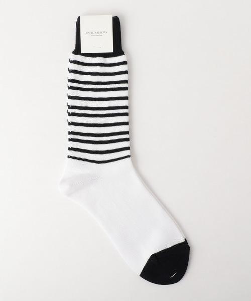 USBS 橫條紋襪子