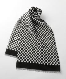 <FIORIO>DOT SCF 白點圍巾