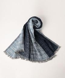<Faliero Sarti> BORDER STL 條紋圍巾
