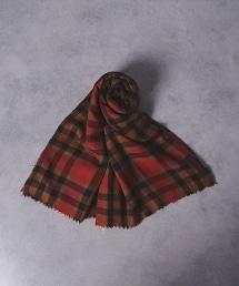 FIORIO CHK STL 格紋圍巾