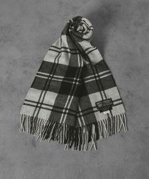 【特別訂製商品】<JOHNSTONS> CA 格紋圍巾35×170