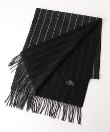 UA 粉筆條紋(chalk stripe) 雙面喀什米爾羊毛圍巾