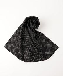 UDET 絲質波卡圓點方巾