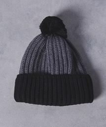 UA ITY PONPON KNIT CAP 絨球雙色針織帽