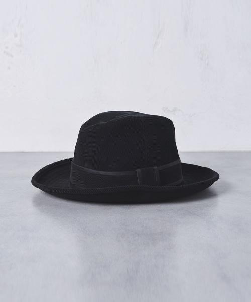 <KIJIMA TAKAYUKI> CORDUROY HAT 燈芯絨禮帽