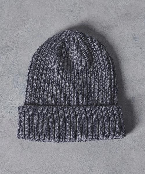 <KIJIMA TAKAYUKI> RIB KNIT CAP 1 針織帽