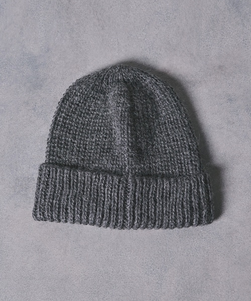 <KIJIMA TAKAYUKI> RIB KNIT CAP 2 羅紋針織帽