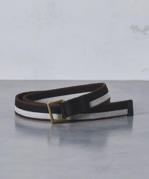 【特別訂製】 <Whitehouse Cox> SQ/RING BELT †