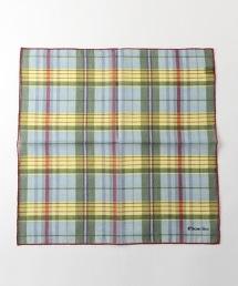 <FIORIO>MDRS BNDN 馬德拉斯格紋口袋巾