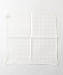 <FIORIO>FLW CHFF 植物圖案口袋巾