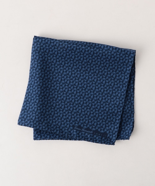<ERRICO FORMICOLA> PRNT KMN CHF2 絲質碎花口袋巾